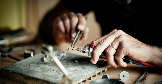 Manufacturing Leibish Jewelry
