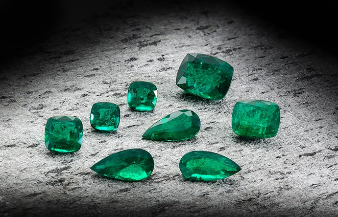 Leibish Green Emeralds
