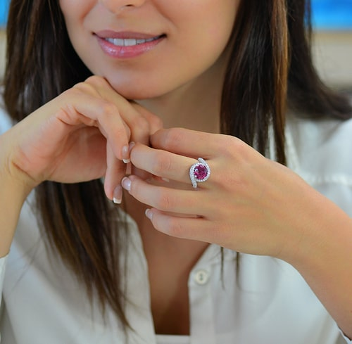 A Red Ruby Ring