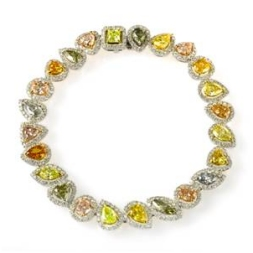 Multicolor Diamond Bracelet