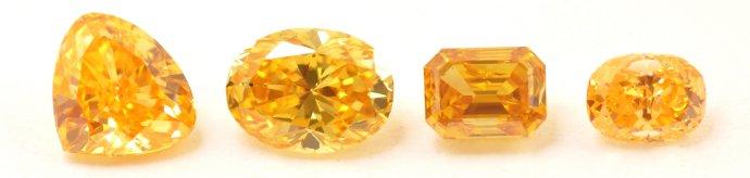 Natural Orange Diamonds