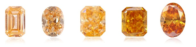 Orange diamond intensities