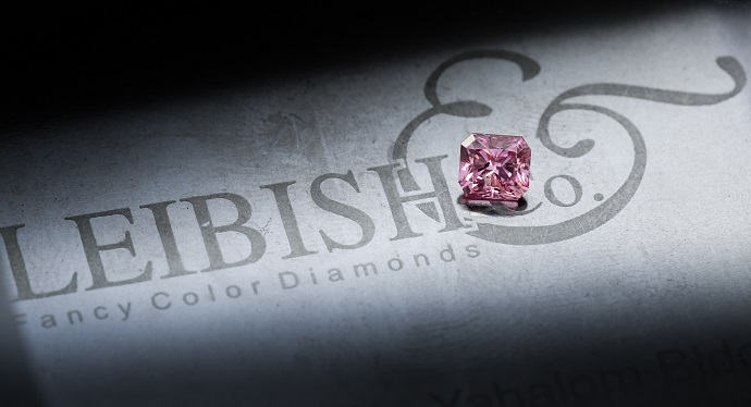 Pink Argyle Diamond from Leibish