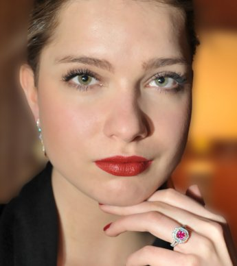 Prosperity Pink Diamond Ring