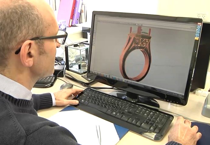 Richard Working on a Ring