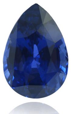 Leibish & Co. 8.54 ct deep blue sapphire