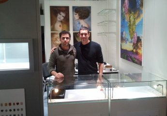 Setting up the Baselworld 2012 Booth