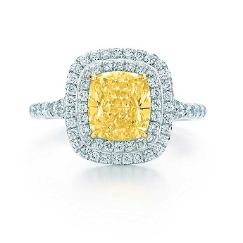 Tiffany Soleste Yellow Diamond Ring