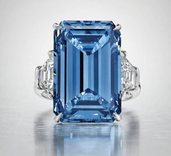 The 14.62 Carat Oppenheimer Blue Diamond
