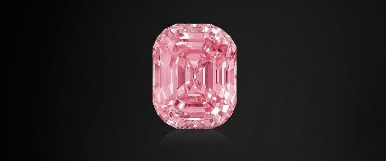 The 24.78 Carat Graff Pink diamond