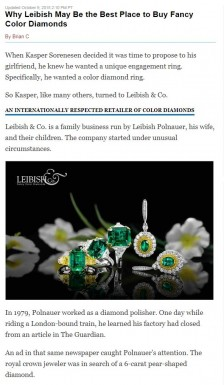 Why Leibish May Be the Best Place to Buy Fancy Color Diamonds