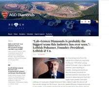 """Lab-Grown Diamonds is probably the biggest scam this industry has ever seen,"": Leibish Polnauer, Founder-President, Leibish & Co."