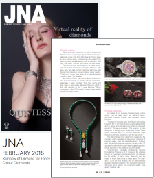JNA - Rainbow of Demand for Fancy Colour Diamonds